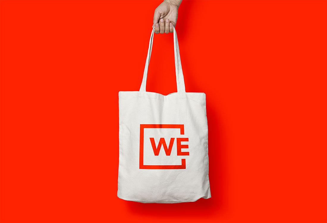WE Tote Bag