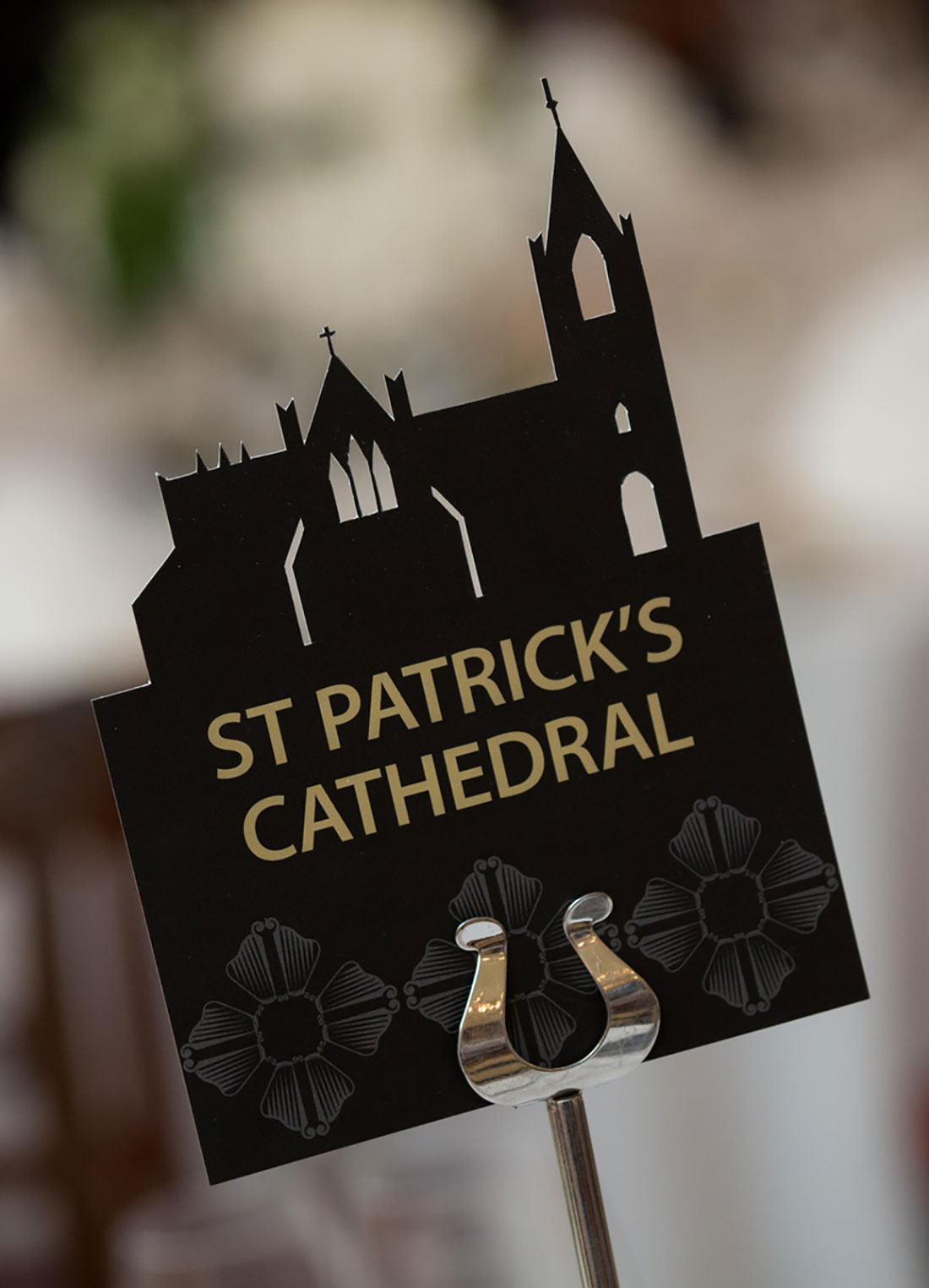 Diageo President's Club Table Name St. Patrick's Cathedral