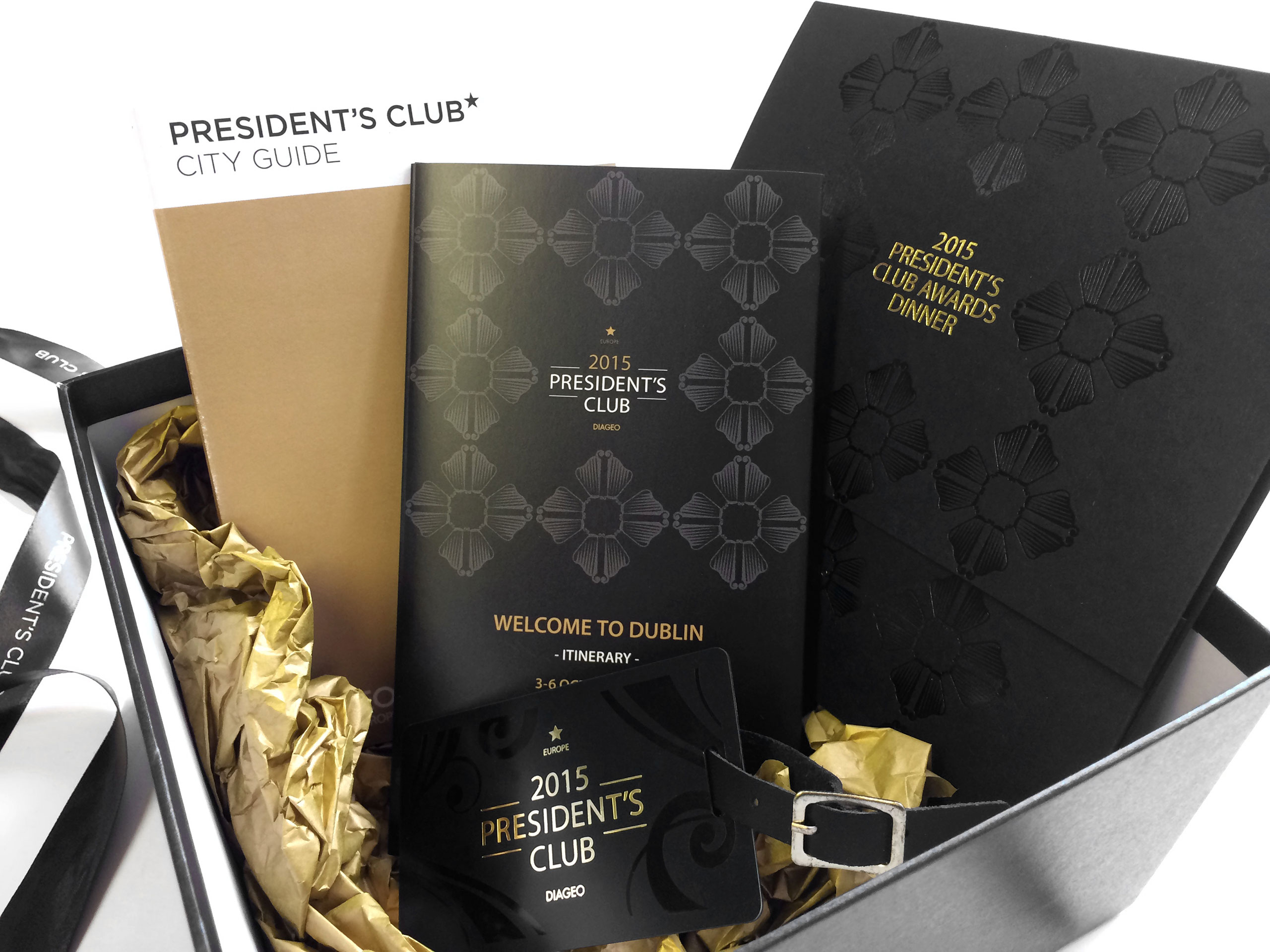 Diageo President's Club Welcome Box
