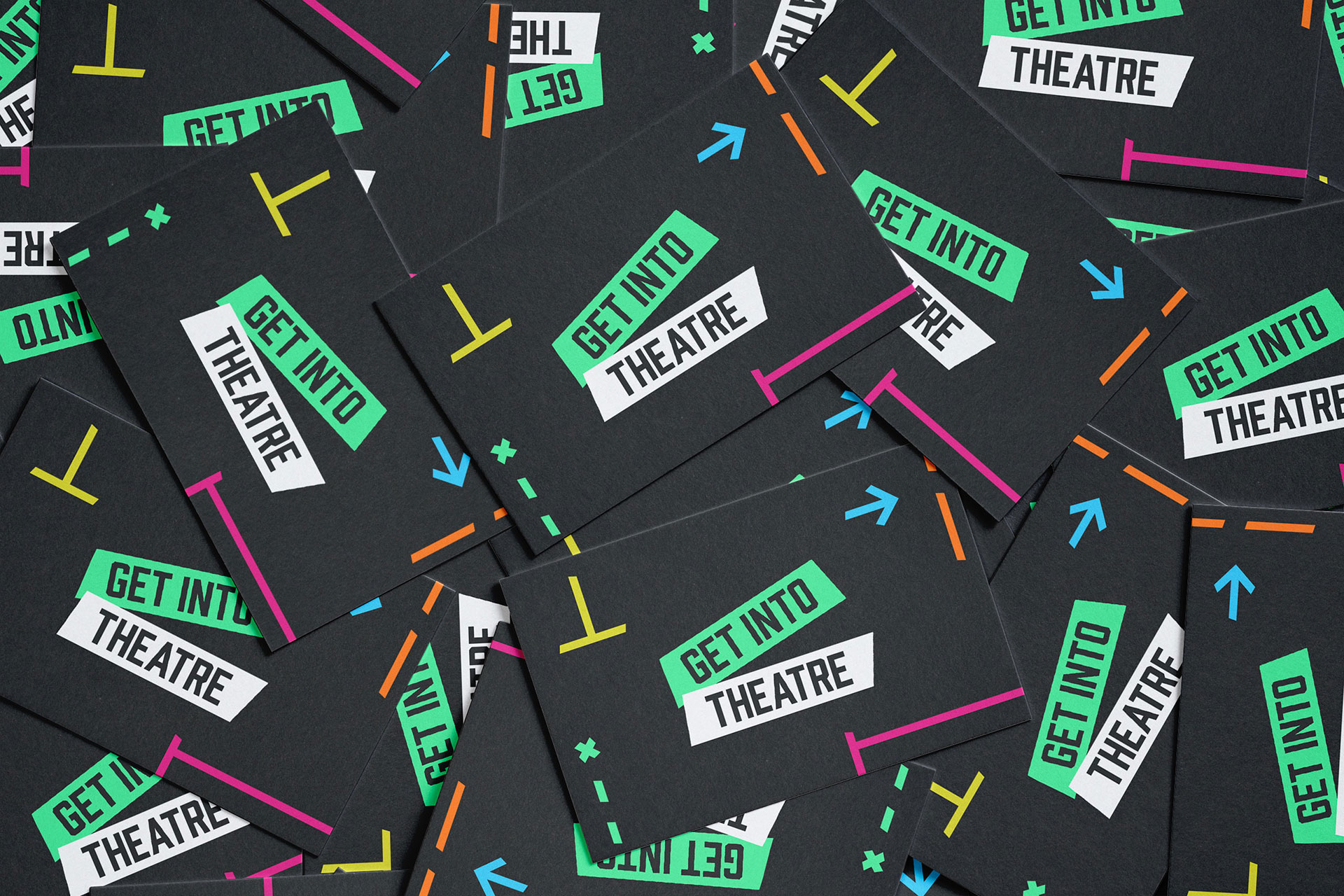 Get Into Theatre Business Cards