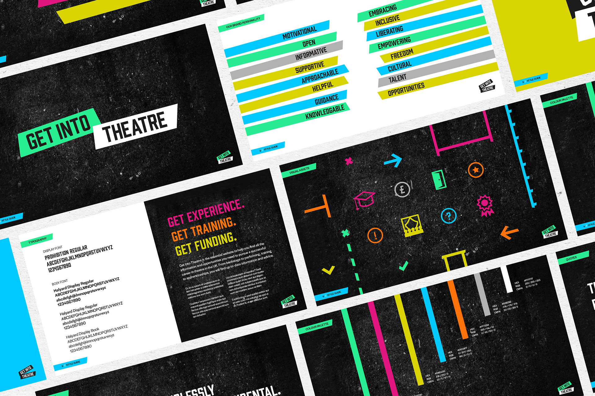 Get Into Theatre Style Guide