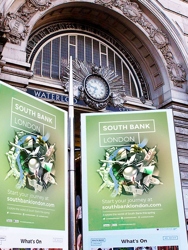 South Bank London Posters