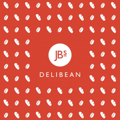 JB's Delibean Logo and Pattern Red