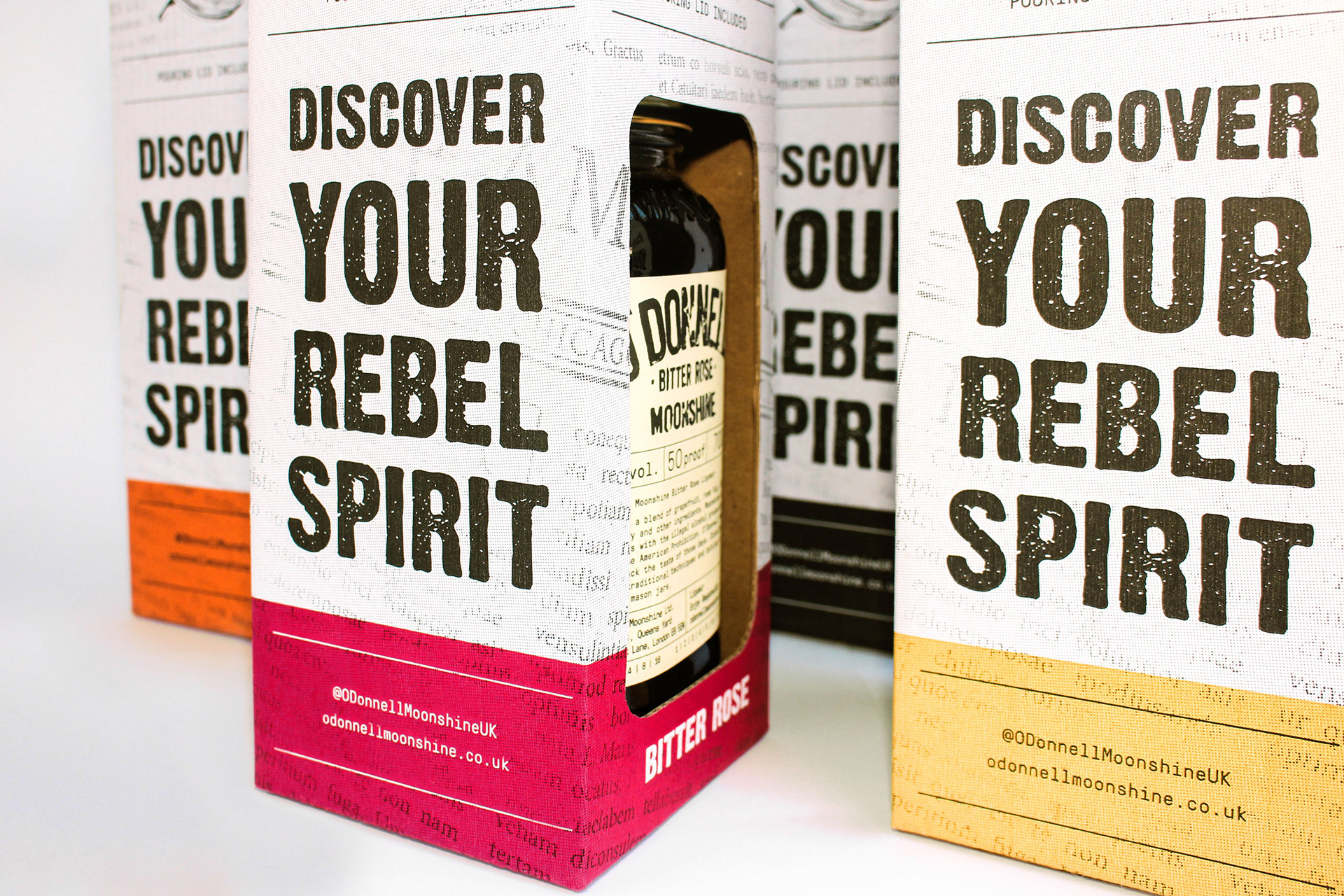 O'Donnell Moonshine Limited Packaging Close