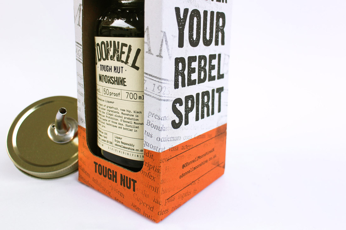 O'Donnell Moonshine Limited Packaging Bottom