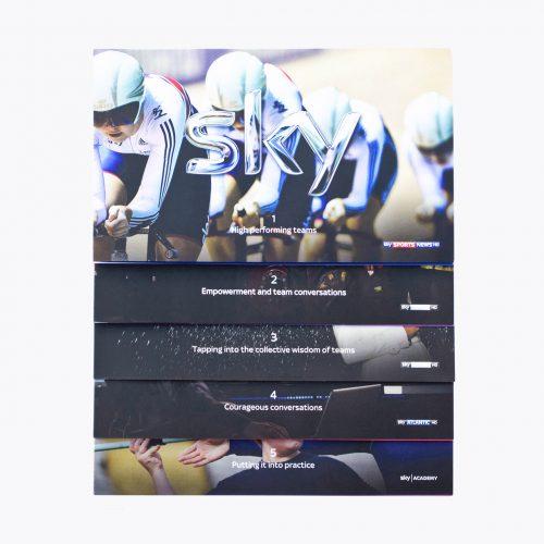 Sky Better Teams Leaflet Set